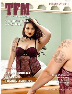 Top Floor Magazine February 2018 issue