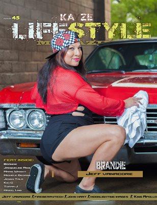 Kayze Magazine Issue 45 -BRANDIE  - LIFESTYLE