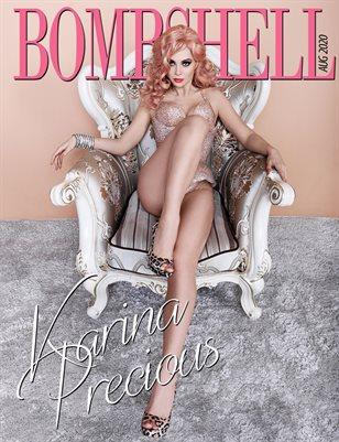 BOMBSHELL Magazine August 2020 - Karina Precious Cover