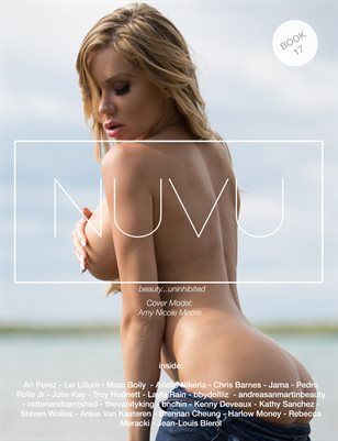 NUVU Magazine Book 17 - ft Amy Nicole Moore