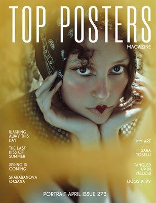 TOP POSTERS MAGAZINE- PORTRAIT APRIL (Vol 273)