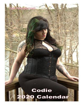 2020 Codie calendar