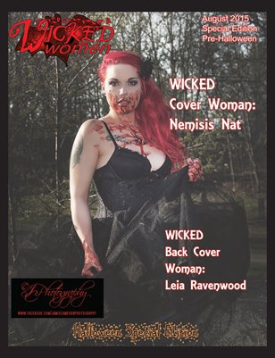 WICKED Women Magazine- Halloween Special Edition: August 2015 (Pre-Halloween)
