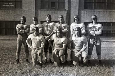 Sept. 12, 1946 Mayfield High School Football Team
