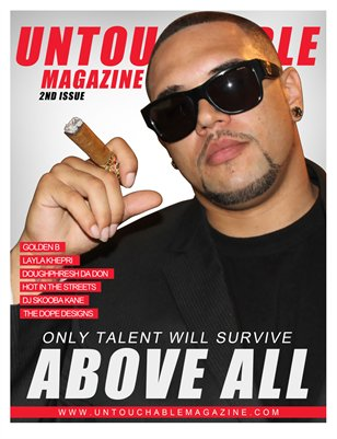 "Issue 2 ""Only talent will survive"" by Untouchable Magazine"
