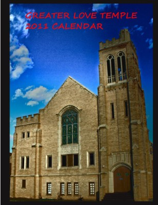 2011 Greater Love Temple Calendar