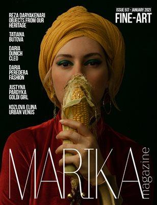 MARIKA MAGAZINE FINE-ART (ISSUE 517 - January)