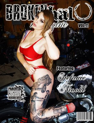 Broken Halo Magazine Vol.11 Featuring Stefanie Nicohl