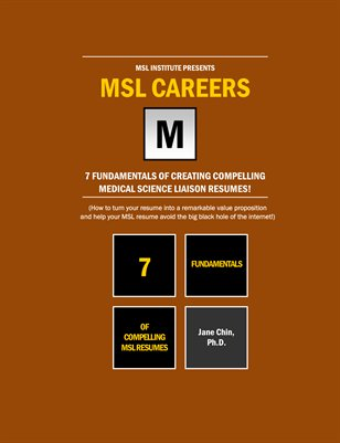 7 Fundamentals of Compelling MSL Resumes