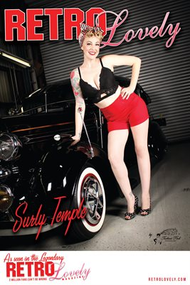 Surly Temple Cover Poster