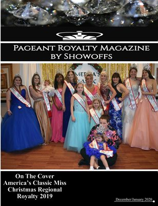 Pageant Royalty Magazine December January 2020 Issue