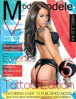 Model Modele Arrelius Ra Tattoo Issue (Venessa Cover)