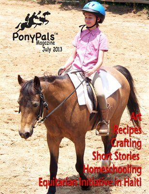 Pony Pals Magazine -- July 2013 -- Volume 3 #2