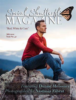 Issue No. 40 - Red, White & Cute - Social Shutterfli Magazine