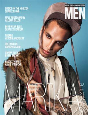 MARIKA MAGAZINE MEN (ISSUE 530 - January)