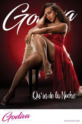 GODIVA No.11 – Qu'in de la Noche Cover Poster