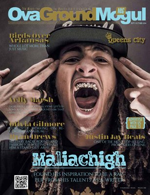 Sept Oct issue featuring Malichigh