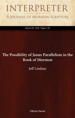 The Possibility of Janus Parallelism in the Book of Mormon
