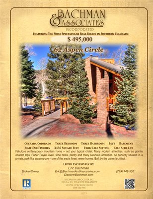 62 Aspen Circle 4-page brochure