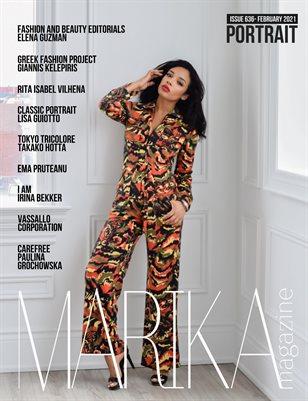 MARIKA MAGAZINE PORTRAIT ( ISSUE 636 - February )