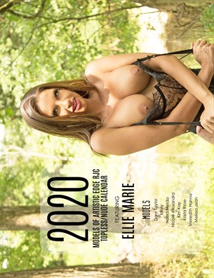 Ellie 2020 Models of Artistic Edge RJC Topless Nude Calendar