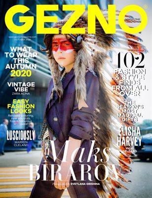 GEZNO Magazine October 2020 Issue #08