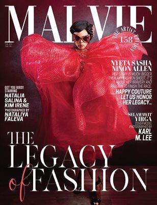 MALVIE Magazine The Artist Edition Vol 158 February 2021