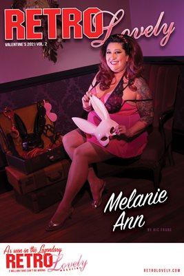 Melanie Ann Cover Poster Valentine's 2021