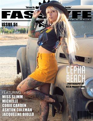 FASS LYFE MAGAZINE ISSUE 51 FT. CEPHA BEACH