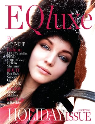 EQluxe Magazine Holiday 2018