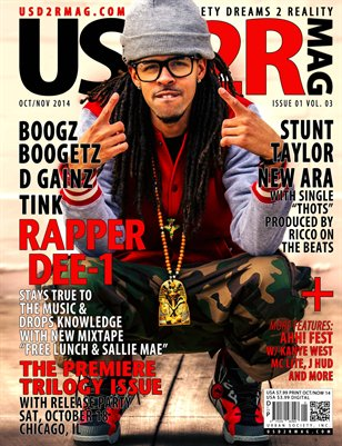 USD2R Magazine Issue 1 Volume 3
