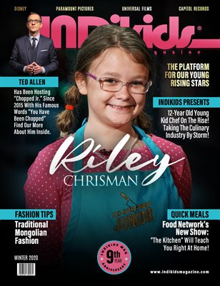 IDK WINTER 2020 ISSUE RILEY COVER