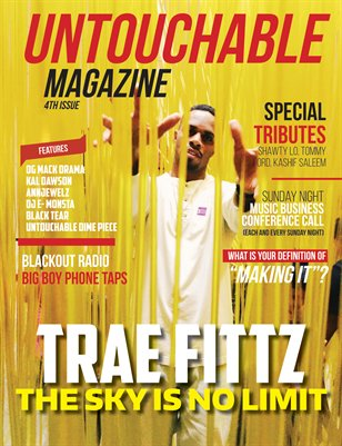 Untouchable Magazine Issue 4- The Sky is no limit