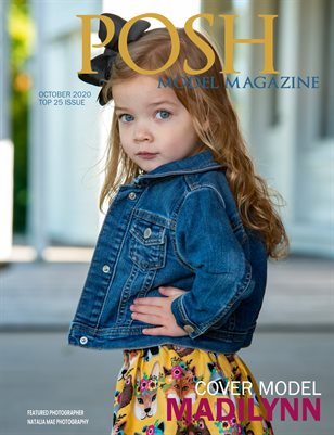 October TOP 25 POSH Model Magazine