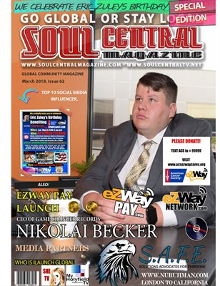 Soul Central Magazine ~ Game Changer Records #62nd #EZWAY Edition