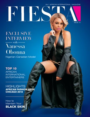 FIESTA INTERNATIONAL MAGAZINE--ISSUE 12