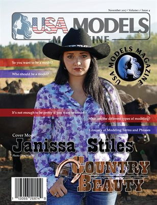 USA Models Magazine • Country Beauty • Nov 2017 Issue • Vol 1 • Issue 4