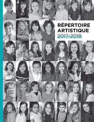 Répertoire artistique 2017-2018