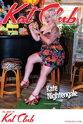 Kat Club No.43 – Kate Nightengale Cover Poster