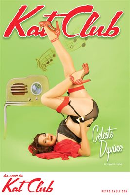 Kat Club No.41 – Celeste Dyvine Cover Poster