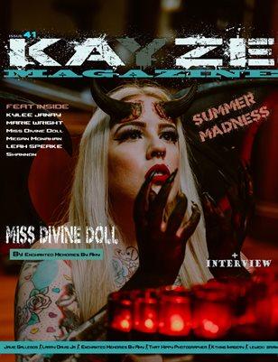 Kayze Magazine Issue 41 -MISS DIVINE DOLL -SUMMER MADNESS VOL1