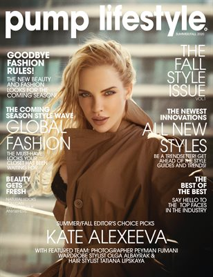 Pump Magazine | The Fall Style Issue | Vol.1