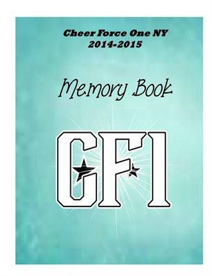 Cheer Force 2014-2015 Memory Book