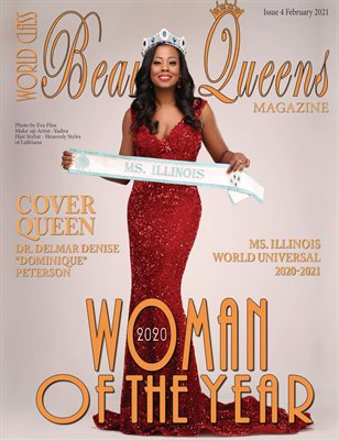 World Class Beauty Queens Magazine, Issue 4, 2020 World Class Woman of the Year