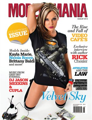 MODELSMANIA AUGUST 2013