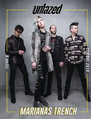 Unfazed Mag: Issue 5 - Marianas Trench