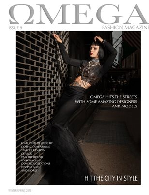 Omega Fashion Magazine Hit the City in Style Cover #2 of 3