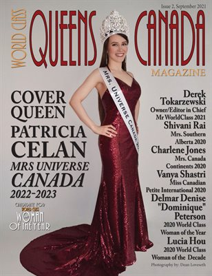 World Class Queens of Canada Magazine, Issue 2, Patricia Celan,