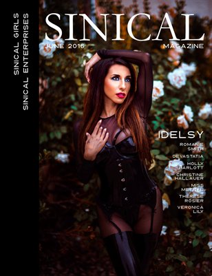 Sinical June 2016 - Idelsy cover edition