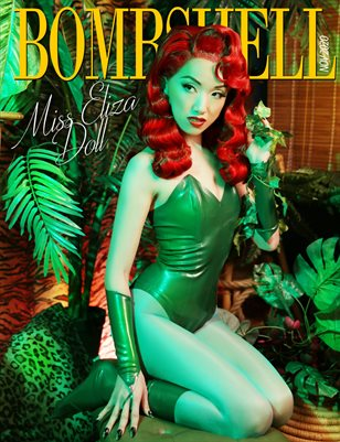 BOMBSHELL Magazine November 2020 - Miss Eliza Doll Cover